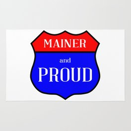 Mainer And Proud Rug