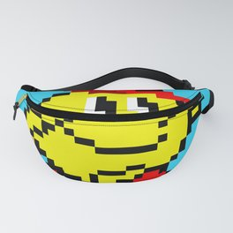 Jumping Pacland retro game sprite Fanny Pack