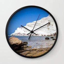 Scala dei Turchi Wall Clock