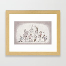 Kingdom Christmas Framed Art Print