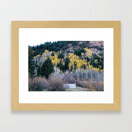Colorado in Fall Framed Art Print
