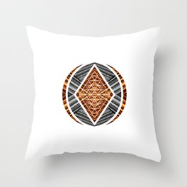 No.2 - Abstract Series Throw Pillow