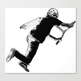 Tail-whip - Stunt Scooter Trick Canvas Print