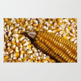 Yellow corn Rug