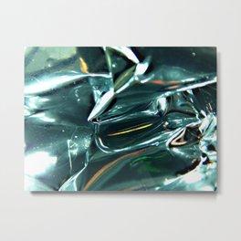 Pleated Metal Construction Metal Print