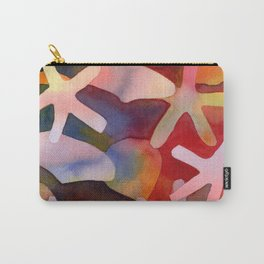 Sea Stars and Sea Shells Watercolor Art Carry-All Pouch