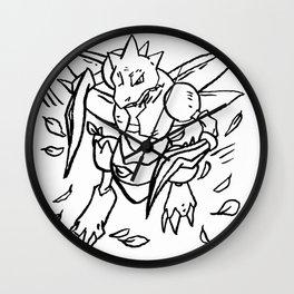 Sword Wall Clock