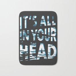 In Your Head Bath Mat