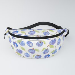 Summer Plums Fanny Pack