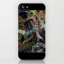 Abstract Beads iPhone Case