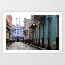 Old San Juan, Puerto Rico - Photo Art Print