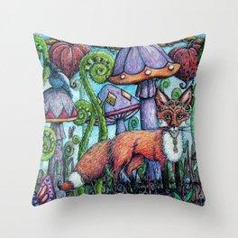 Fox Hollow Throw Pillow