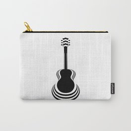 Acoustic Guitar Cutout Carry-All Pouch
