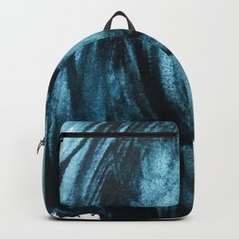 1 2 3 1 : blue abstract Backpack