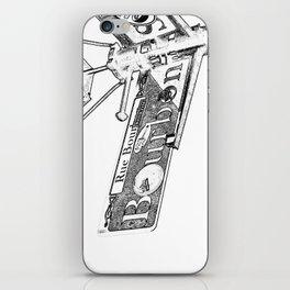 Sign of Bourbon Street  iPhone Skin