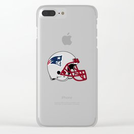 Hat Patriot England Clear iPhone Case