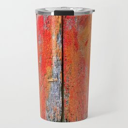 Weathered Wood Shutter rustic decor Travel Mug