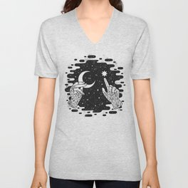 Look to the Skies Unisex V-Neck