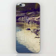 We love Different Beaches iPhone & iPod Skin