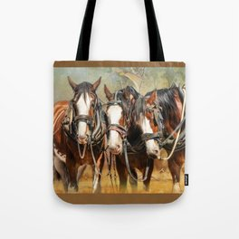 Clydesdale Conversation Tote Bag
