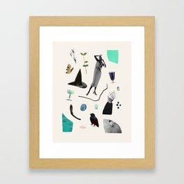SCAVENGER HUNT Framed Art Print