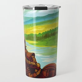Earth - Your Oasis in Space Travel Mug