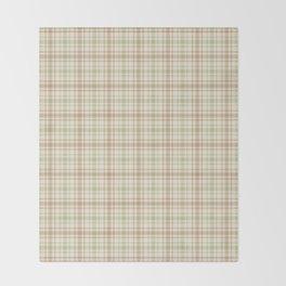 Beautiful plaid 2 Throw Blanket