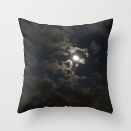 Moonlit Moment Throw Pillow