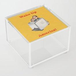 Wake Up Call Acrylic Box