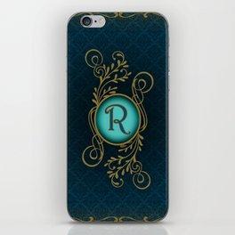 Monogram R iPhone Skin