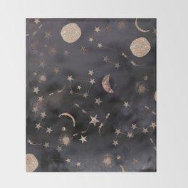 Constellations  Throw Blanket