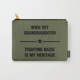 WWII Granddaughter Heritage Carry-All Pouch