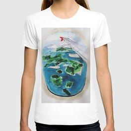 Window seat T-shirt