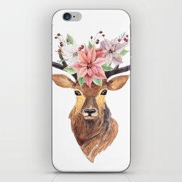 Winter Deer 3 iPhone Skin