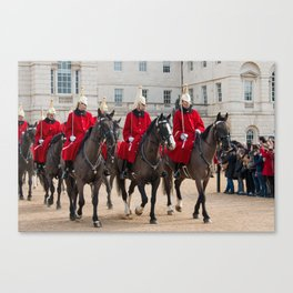 Household Cavalry Canvas Print