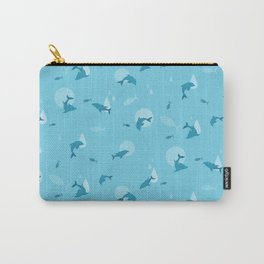 Blue Dolphin Carry-All Pouch