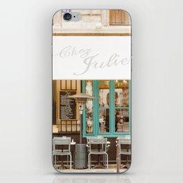 Chez Julien iPhone Skin