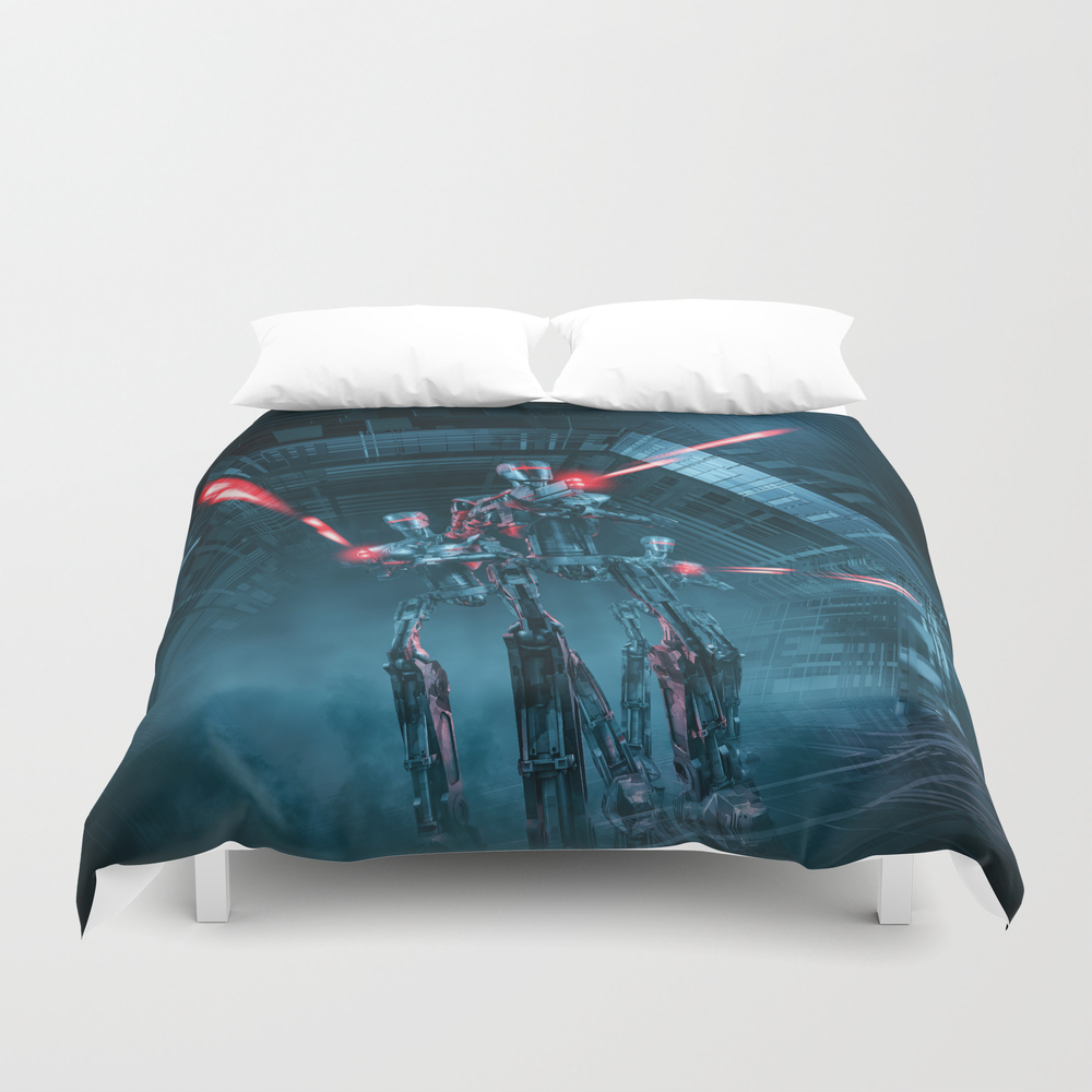 The Assault Duvet Cover by Grandeduc DUV8750017