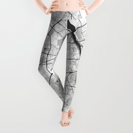 Warsaw Map Gray Leggings
