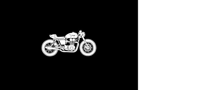 Triumph Bonneville - Cafe Racer series #3 Coffee Mug