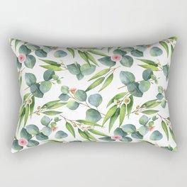 Bamboo and eucaliptus pattern Rectangular Pillow