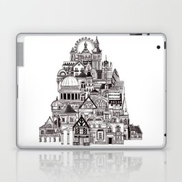 London pencil lines Laptop & iPad Skin