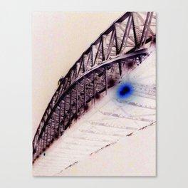 Bridge Flare Canvas Print