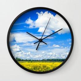 Michigan Bliss Wall Clock