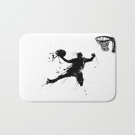 Slam dunk Basketballer Bath Mat