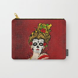 The Dead Skull Face Painting Carry-All Pouch