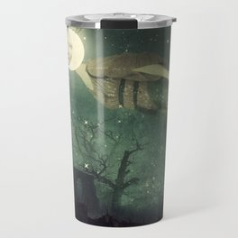 The Owl That Stole the Moon Travel Mug