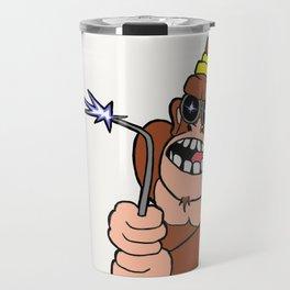 Welder monkey Travel Mug