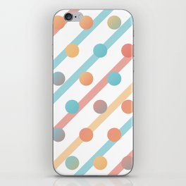 Simple saturated pattern iPhone Skin