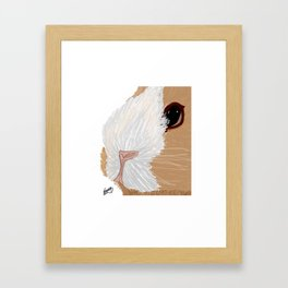 Squeaky Framed Art Print